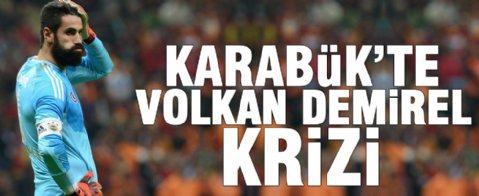 Karabük'te Volkan Demirel krizi