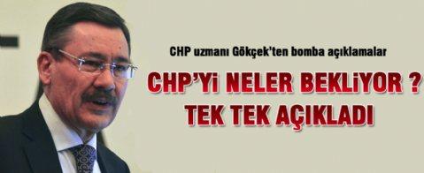 Melih Gökçek'ten CHP ile ilgili bomba açıklamalar