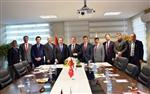 İVEDİK ORGANİZE SANAYİ - Orsiad Yönetim Kurulundan Ankara Kalkınma Ajansına Ziyaret
