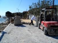 Köy Yollarına 12 Bin Metrekare Parke Taşı