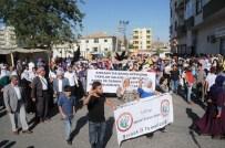 MUHTARLAR BİRLİĞİ - Ankara'daki Patlama Cizre'de Protesto Edildi