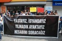 ŞEYH SAID - Ankara'daki Terör Saldırısını Protestoda Olaylar Çıktı