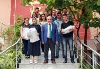 BEYİN GÜCÜ - Gaziantep Üniversitesi YÖK Başkanı Yekta Saraç, Tercih Birincilerine Teşekkür Plaketi Verdi
