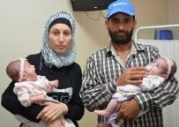 ÜÇÜZ BEBEK - Suriyeli Çiftin Çocuk Sevinci