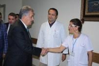AK Partili Yazıcı'dan Hasta Ziyareti
