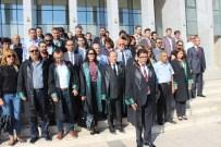 ADIL DEMIR - Denizlili Avukatlardan Teröre Pankartlı Tepki