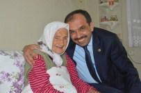 Milletvekili Balta'dan 105 Yaşındaki Kudu'yu Ziyaret