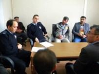 Sultanğı'nda Servis Şoförleri İle 'Önce Can' Toplantısı