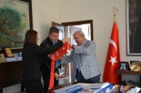 GEBZESPOR - Çorluspor 1947 Spor Kulübü Yöneticilerinden Başkan Albayrak'a Ziyaret