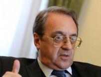 MİHAİL BOGDANOV - Rusya'dan kritik Suriye açıklaması