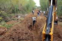 Taşköprü Belediyesi, Ybo'nun Kanalizasyon Hattını Yenileniyor