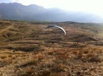 DENEME UÇUŞU - Seydişehir'de Yamaç Paraşütü Denemesi Başarılı Oldu