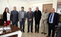 AHMET ARABACı - Cemiyet'ten Müftü Hacı Yusuf Gül'e Hac Dönüşü Ziyaret
