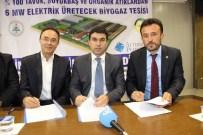 UĞUR KALKAR - Çumra'ya 17 Milyon Dolarlık Enerji Yatırımı