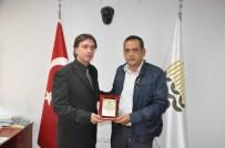 SEKILI - Yerköy Ticaret Borsası'ndan TMO Müdürü Adnan Budak'a Teşekkür Plaketi