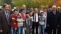 AHMET YAPTıRMıŞ - Ahmet Yaptırmış, Seçim Gezisini Palandöken'de Sürdürdü