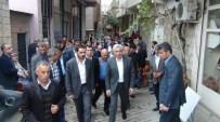 AK Partili Adaylar Çüngüş'ü Gezdi