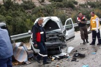 Isparta'da Trafik Kazası Açıklaması 1 Ölü, 3 Yaralı