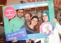 AK Parti Trabzon Milletvekili Adayları Köseoğlu Ve Günnar Seçim Çalışmalarını Sürdürdü