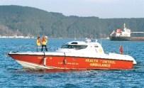 Deniz Ambulansında Doğum Yaptı