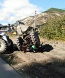 İSKILIPLI ATıF HOCA - İskilip'ta Traktör Kazası Açıklaması 1 Yaralı