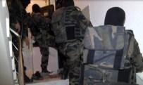 Terör Örgütüne Darbe Açıklaması 13 Gözaltı