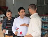 OSMAN BOYRAZ - AK Partili Osman Boyraz, Kamyoncu Esnafını Ziyaret Etti