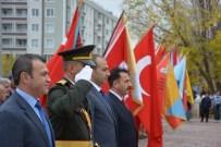 AŞKALE KAYMAKAMI - Aşkale'de 29 Ekim Çelenk Sunum Töreni..