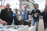 BALIKÇI ESNAFI - Balıkçılardan İlginç Protesto