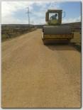 Polateli İlçesi Köy Yolları Yapılıyor