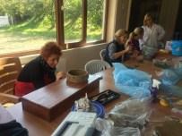 EBRU SANATı - Sapanca Belediyesi Yeni Kurslar Açtı