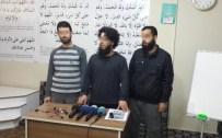 DİNLEME CİHAZI - Yakalanan IŞİD'li Diyarbakır'da Basın Toplantısı Düzenlemiş