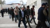 Elazığ'daki KCK/Pkk Operasyonunda 12 Şüpheli Adliyeye Sevk Edildi