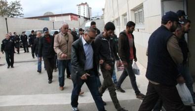 KCK/PKK Operasyonu Açıklaması 12 Şüpheli Adliyeye Sevk Edildi