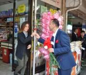 MEHMET ERDEM - AK Parti Karanfil Dağıtıp Oy İstedi