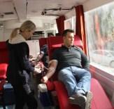 KAYNANALAR - Çan'da Kızılay'a 24 Ünite Kan Bağışı