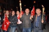 EDİP AKBAYRAM - Yüzlerce Burdurlu, Cumhuriyet İçin Yürüdü