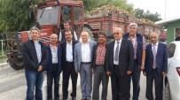 PANCAR ÜRETİCİLERİ - Çakırözer Fabrika Kapısında Çiftçilerle Buluştu