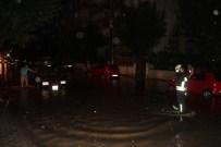 Karaman'da Sağanak Yağış Etkili Oldu