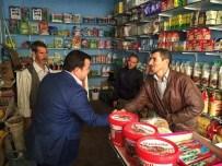 AK Partili Beran Çelik Kötü Hava Koşullarına Rağmen Çalışmalarını Sürdürüyor