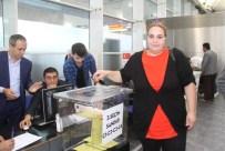 ELAZIĞ HAVALİMANI - 1 Kasım seçimleri için ilk oylar atıldı