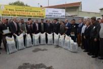 KıZıLCAÖREN - Çiftçilere 'Macar Fiği Tohumu' Dağıtıldı