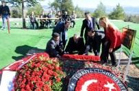 AYLİN CESUR - Süleyman Demirel Doğum Gününde Mezarı Başında Anıldı