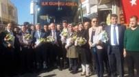 AK Partili Milletvekillerinden Gömeç'e Teşekkür Ziyareti