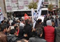 YıLMAZ ÇETIN - Sivas Demir-Çelik İşçileri İle Polis Arasında Arbede