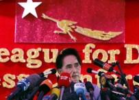 AUNG SAN SUU KYI - Nobel Barış Ödüllü Suu Kyi Myanmar'da Seçimlerin Galibi Oldu