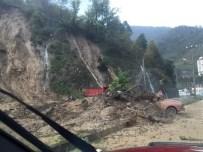 Şiddetli Yağmur Artvin'de Hasara Yol Açtı…
