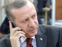 TAZİYE TELEFONU - Erdoğan'dan taziye telefonu