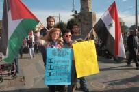 ARIEL - ABD'li İki Kadın Antalya'da G20'yi Protesto Etti