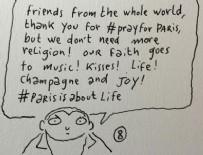 İSLAMAFOBİ - Charlie Hebdo çizeri: Dua etmeyin ihtiyacımız yok